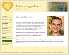 Entspannungsschwester Mary Polter