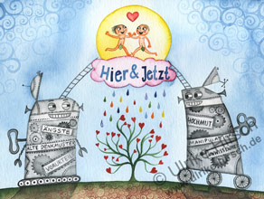 Ulrike Hirsch - Hier und Jetzt