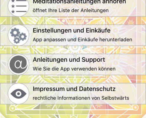 selbstwärts Meditations App