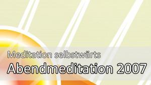 schöner schlafen: Mit der Abendmeditation von Meditation selbstwärts
